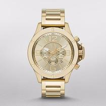 Reloj Armani Exchange Hombre Crono Gold Tone Ax1504