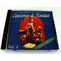 Canciones De Navidad Los Mejores Villancicos Cd Vol 4