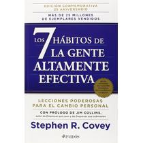Libro Los 7 Habitos De La Gente Altamente Efectiva Covey