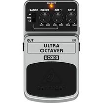 Pedal Behringer Uo-300 Efectos Ultra Octaver Guitarra Y Bajo