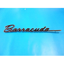 Emblema Plymouth Barracuda 1969 Lateral
