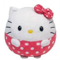 Peluches Hello Kitty Ballz