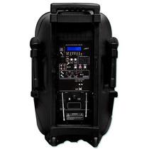 Bafle 4500w Bateria Recargable Amplificado Usb Sd Bluetoth.