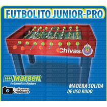 Futbolito Junior-pro De Madera Solida, Uso Rudo (marben)