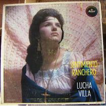 Bolero, Lucha Villa, Sentimiento Ranchero, Lp 12´, Wsl