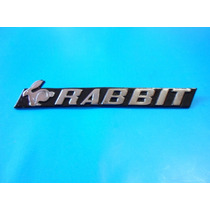 Emblema Volkswagen Rabbit - Caribe Gt, Gti ,gl Etc.