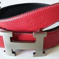 Paquete De Cinturones Hermes Gucci Ferragamo Mayoreo 10 Pza