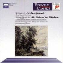 Schubert - Forellen Quintett Musica De Camara Cd Clasica Eex