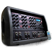 Consola-amp St 6 Canales Pto Usb/display/eq 2000 W Pmpo