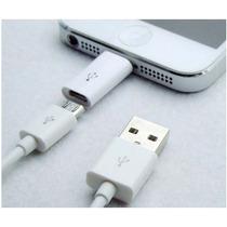 Adaptador Micro Usb A Lightning 8 Pines Certificado Apple
