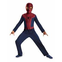 Disfraz Spiderman Hombre Araña Niño Talla 8 A 9 Años