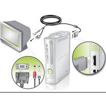 Cable Vga Hd Av Para Xbox Conecta Tu Xbox A Pantallas Y Pc