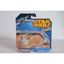 Star Wars Hot Wheels X Wing Fighter Red 3
