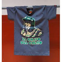 Playera El Chavo Del Ocho Chemo,vv4