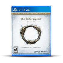 The Elder Scrolls Online Para Ps4 ¡sólo En Gamers!