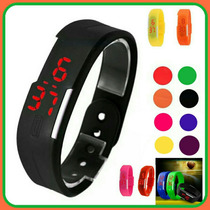 Reloj Touch Led Unisex Varios Colores
