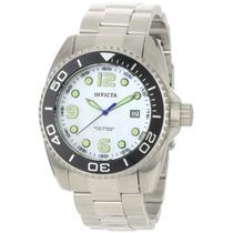 Reloj Marca Invicta 0479 Pro Diver Collection White Vbf