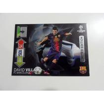 Tarjeta Panini Adrenalyn David Villa Limited Edition 2013