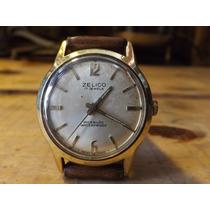 Reloj Zelico Muy Antiguo De Los 30s Baño Oro Incabloc Suizo