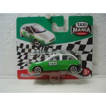 Taxi Mania Taxi Compacto Ecologico Df Chevy Verde 1:64