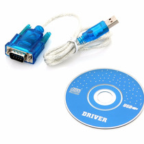 Cable Convertidor Usb A Serial Db9 Rs232