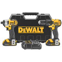 Dewalt® Kit Inalambrico Taladro + Impactadora 20v Dck280c2