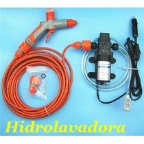 Hidrolavadora Portátil 12v 60w Mini Hidro Wash Autolavado