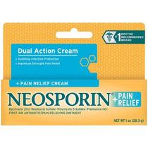 Neosporin + Alivio Del Dolor De Doble Acción Crema + Crema A