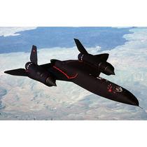 Planos Del Sr-71 Blackbird De Radio Control