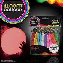 1 X Illooms Led Luz Globos De Hasta 15 Color Mezclado Party