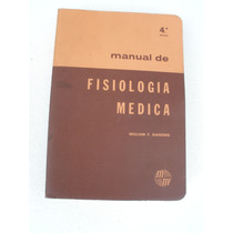 Manual De Fisiologia Medica, William Ganong