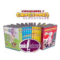 Video Rondas Y Canciones Infantiles 11 Cds Audio + 2 Dvds