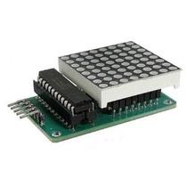 Kit Matriz Led De 8x8 Con Max7219, Arduino, Pic, Raspberry