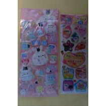 Planilla Stickers Kawaii Japón Rilakkuma Curitas Cute Decora