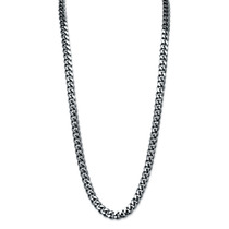Hombres 10.5 Mm Cadena Del Encintado-link Collar 24-inch