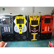 Rockola Completa Con Luces Audio Ritmicas,envio Gratis!!!