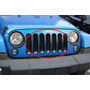 Vistas Parrilla Jeep Jk Wrangler 2007-2015 Set Con 7 Piezas