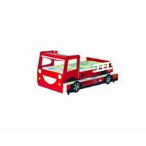 Base Infantil Mini Camión De Bombero