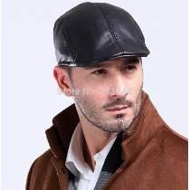 Exquisitas Boinas Nuevas Gorra Sombrero Negro Con Gris