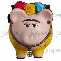 Alcancías Frida Kahlo Cerditos Puerquitos Regalos
