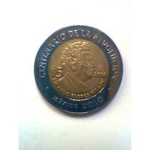 Magon Centenario De La Revolucion Moneda Mexicana 5
