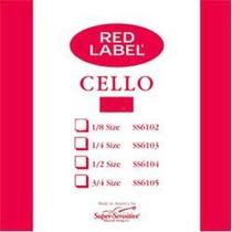 Cuerdas Para Cello Red Label (envio Gratis)