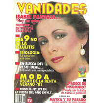Isabel Pantoja En Vanidades, Revistas De Los 80