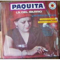 Bolero, Paquita La Del Barrio, El Barrio De Los Faroles, Lp
