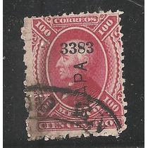 Hidalgo 1872 100 Cts,s/marca De Agua Usada Scott 122 Vbf