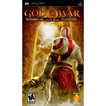 God Of War Chains Of Olympus (nuevo Y Sellado) - Sony Psp
