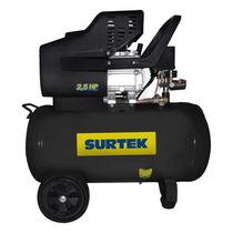 Compresor Lubricado De Aire 50lt 2.5hp Comp550a Surtek