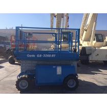 Elevador Hidraulico Todo Terreno Genie Gs3268rt Mod. 2004