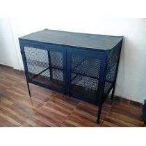 Mesa Para Estetica Canina Dos Jaulas 1.60 X 1.00 Envio Grati