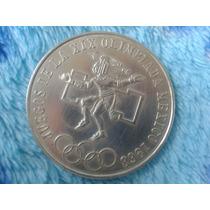Moneda De Plata Pura Juegos De La Xix Olimpiada Mexico 1968